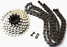 Cadena para bicicleta y casete 21 marchas Shimano hg40/hg41