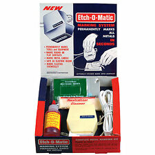 Mark 440 Stencil Maker & Etch-O-Matic Starter Combination Kit