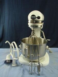 White 10 Speed KitchenAid Mixer Stand Model K5-A