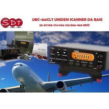 UBC-355CLT UNIDEN SCANNER VON BASIC 25-87/108-174/406-512/806-960 MHZ