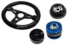 NRG 320 Sniper Steering Wheel BK Carbon Spoke/170 Hub/2.0 BL Release/Matt Lock b