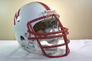 Vtg Original Nebraska Cornhuskers Game Used Worn Riddell Pac3 Football Helmet
