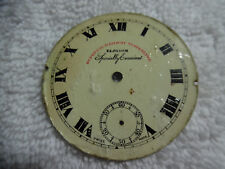 Railway Timekeeper Blossom Examined 79-9Ggg Antique Pocket Watch Face Superior