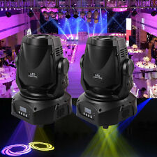 2x Moving Head Bühnenbeleuchtung Spot Licht DMX512 DJ Disco Stage Party 30W LED