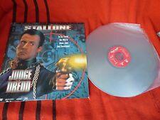 Judge Dredd Stallone Action Movie Film Laser Disc Large DVD LaserDisc Vintage