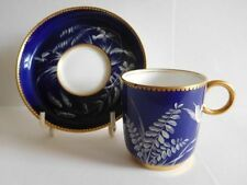 Unboxed Minton Date-Lined Ceramic Cups & Saucers