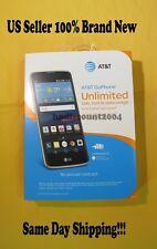 LG PHOENIX  2 K371A 16GB  Black 5 inch Smartphone 4G LTE ATT Brand NEW