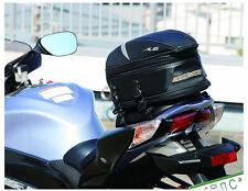 Fashion Motorcycle Rear Seat Bag Car Tail Bags Send Rain Cover 18.5 liters
