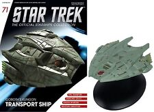 Star Trek The Official Starships Collection GOROTH'S KLINGON TRANSPORT SHIP #F15
