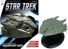 Star Trek The Official Starships Collection GOROTH'S KLINGON TRANSPORT SHIP #F15