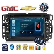 GPS Nav Map+Double Din Car Stereo DVD Player For 2007-2013 GMC,Chevrolet,Buick