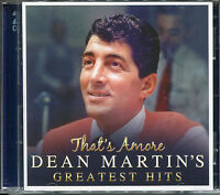 THAT'S AMORE DEAN MARTIN'S GREATEST HITS - 2 CD BOX SET - VOLARE & MANY MORE