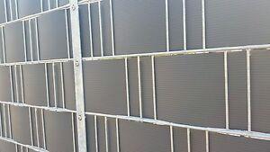 PVC Sichtschutz Musterset Gartenzaun Sichtschutzstreifen Gitterzaun max.1,55 mm