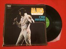 ELVIS PRESLEY C'MON EVERYBODY RCA FLC1 7128 FRANCE VG + VINYLE 33T LP