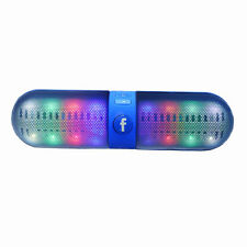 Portable LED Bluetooth Wireless FM Stereo Speaker for iphone Samsung s7 edge
