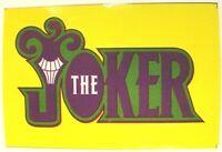 NEW ORIGINAL Joker 2004 DSG GLOSSY Sticker Decal Skateboard NEW