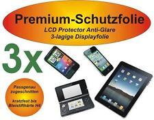 3x Premium-Schutzfolie Antiglare + 3-lagig Nokia Lumia 925 Matt Antireflex