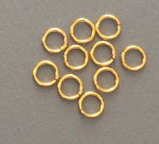 14KT Gold Filled 5mm round Jump Ring Finding-14 Pieces Jewelry Supplies