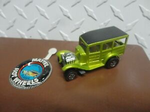 Original Hot Wheels Redline Anti Freeze Classic '31 Ford Woody w/Button