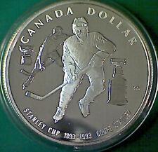 1993 CANADA $1 Stanley Cup commemorative silver dollar