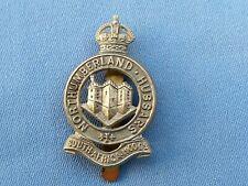 The Northumberland Yeomanry ( Hussars ) cap badge.