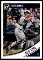 2018 DONRUSS NICKNAME VARIATION GARY SANCHEZ NEW YORK YANKEES #150