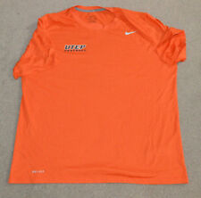 UTEP Miners Football Game Worn Work Out Shirt 2014 New Mexico Bowl Nike Dri Fit