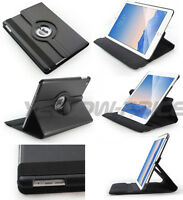 PU Leather Folio 360 Degree Rotating Stand Smart Case for iPad Air 2 iPad 6