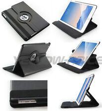 PU Leather Folio 360 Degree Rotating Stand Smart Case for iPad Air 2 iPad 6