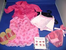 NEW American Girl of Today Valentine Party Outfit  Retired