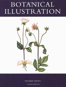 Botanical Illustration by Oxley, Valerie Paperback Book The Cheap Fast Free Post