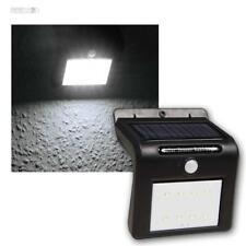 LED solare lampada parete nero con sensore di movimento 1,6W 250lm,IP65