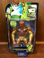 Humungousaur Vintage Bandai Ben 10 DNA Alien Heroes Action Figure New MOC 2008
