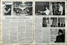 More details for short shrift for thieves crime in america and britain vintage article 1949