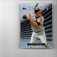 2013 Topps Finest Refractor Manny Machado  ROOKIE CARD!! #'d Dodgers 3b! HOT RC!