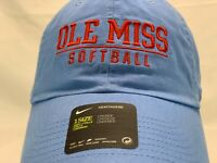 Nike Ole Miss Rebels Softball Slouch Cap Hat Heritage86  Campus Cap New
