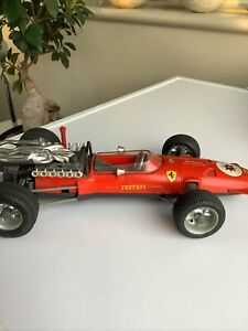 Vintage 1970's Schuco 1:16 Ferrari Formel 2 320PS 310KMH (1073) Model Racing Car