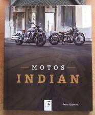 MOTOS INDIAN - PASCAL SZYMEZAK - ED. E.T.A.I. - NEUF !  HARLEY-DAVIDSON