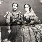 2 1863 newspapers 3 BROADSIDE ENGRAVINGS BRITISH ROYAL WEDDING ofKING EDWARD VII