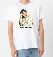 t-shirt original Columbo acteur mode homme film cinéma 100% coton Haute qualité