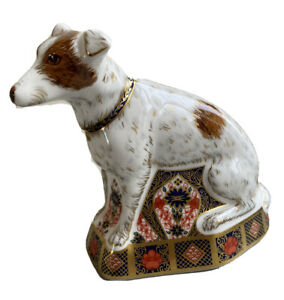 ROYAL CROWN DERBY IMARI JACK RUSSELL LIMITED EDITION OF 500 ,EXCELLENT CON