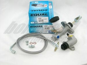 Exedy Slave, Master Cylinder & Stainless Clutch Line for 1991-1998 Nissan 240SX
