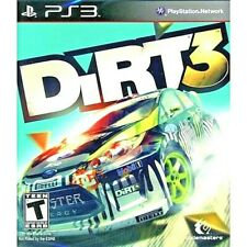 Dirt 3 ps3 Sony Playstation Video Game Car Racing Rally Teen Brand New Sealed