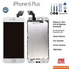 NEW iPhone 6 Plus Retina LCD Digitiser Touch Screen Complete with Parts - WHITE