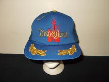 VTG-1980s Disneyland Magic Kingdom Mickey Mouse mesh rope captain hat sku3