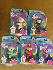 FINGERLINGS By WooWee Authentic Set of 5 with Bonus Stand- Ready for gift giving