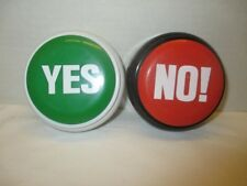 Yes and No Buttons Funny Game Toy 7 Ways to say No and 7 Ways to say Yes NEW
