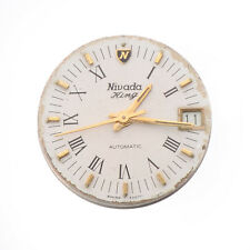 Vintage Nivada KING Automatic Watch Swiss Made Parts Repair Spares Project