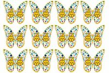 Children In Need Butterfly CupCake Toppers Edible Rice Paper 24 36 or 48 B2G1F