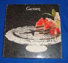 "Carmen Round 13.5"" Footed Cake Server NIB"